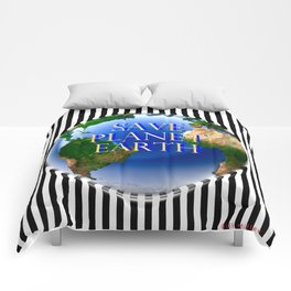 Save Planet Earth Comforters