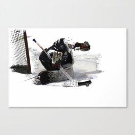 No Goal! - Hockey Goalie Canvas Print
