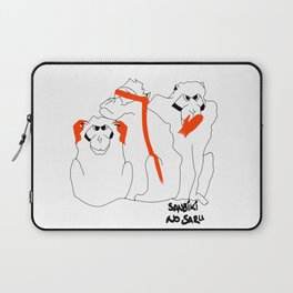 Wise Monkeys Laptop Sleeve