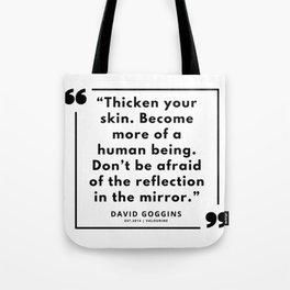 27  | David Goggins Quotes | 190901 Tote Bag