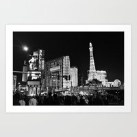 sin city Art Prints featuring Sin City by Bryan