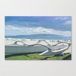 Polo Beach Canvas Print