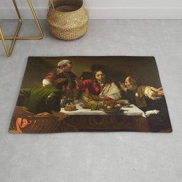 Caravaggio's Supper at Emmaus Rug