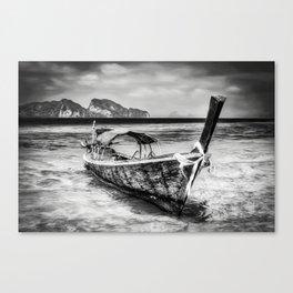 Longboat Thailand Canvas Print