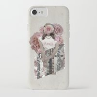 lana del rey iPhone & iPod Cases featuring Flower Del Rey by Alyssa Leary