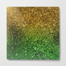 Ombre glitter #2 Metal Print