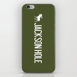Moose: Jackson Hole, Wyoming iPhone Skin