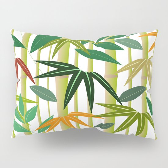 bamboo pillow sham by display dezign society6