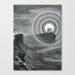 L'Atmosphère (Camille Flammarion) (1872) - A Brocken Spectre Canvas Print