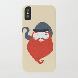 Beard iPhone Case