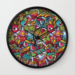 Murales print Wall Clock