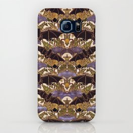 Art Nouveau Bats Medium Size Pattern iPhone Case