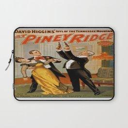 Vintage poster - At Piney Ridge Laptop Sleeve
