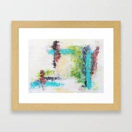 Composición No.1 Framed Art Print