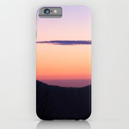 North Georgia Mountains at twilight iPhone Case