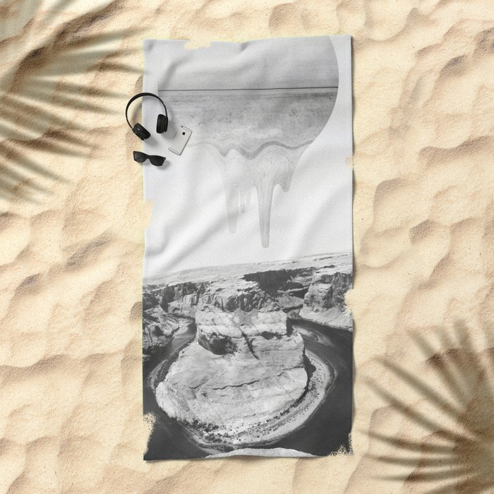 Flux Beach Towel