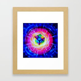 Abstract in perfection Framed Art Print
