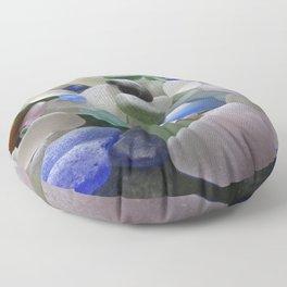 Sea Glass Assortment 6 Floor Pillow