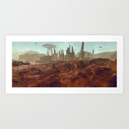 Colony 116 - LHS 1150 b Art Print