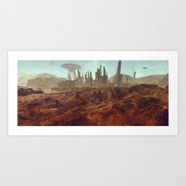 Colony 116 - LHS 1150 b Art Print