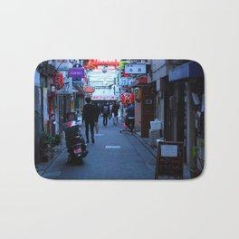 Shinjuku Alleyway Bath Mat