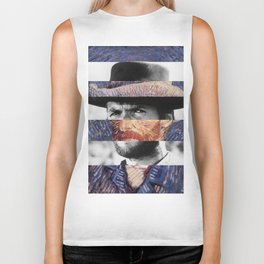 Van Gogh's Self Portrait & Clint Eastwood Biker Tank