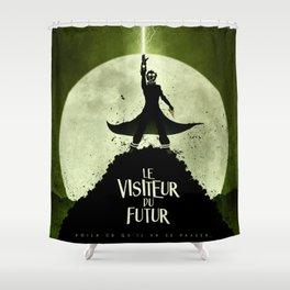 LE VISITEUR DU FUTUR - NO FUTURE Shower Curtain