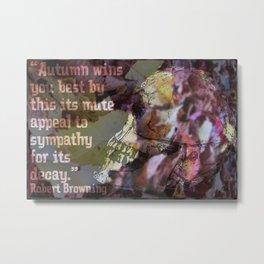 Autumn Decay II Metal Print