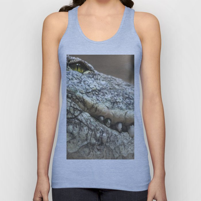 Wildlife Collection: Crocodile Unisex Tank Top