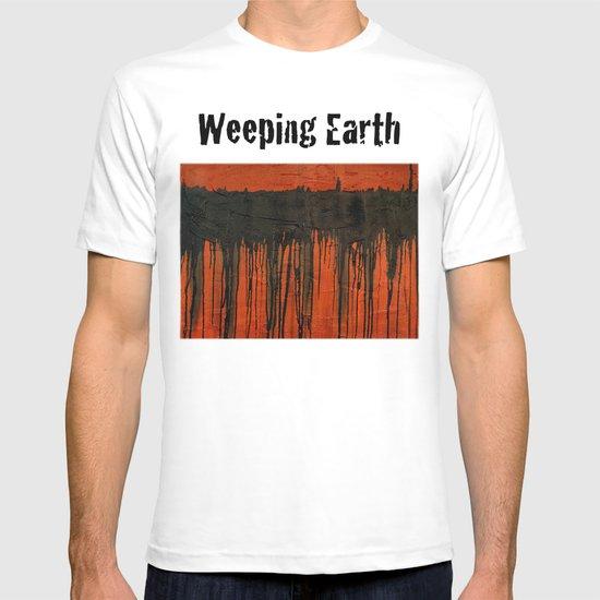 Weeping earth T-shirt