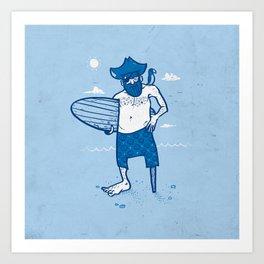 Surf Season Art Print