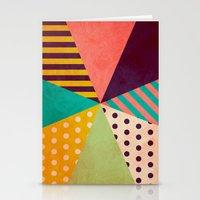 umbrella Stationery Cards featuring Umbrella by Louise Machado