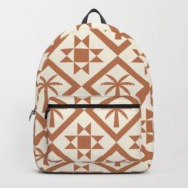 Bohemian Geometric 07A Backpack