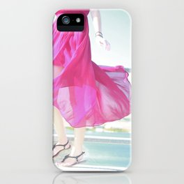 Wind Pink iPhone Case
