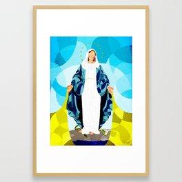 Curves - Full of Grace Framed Art Print