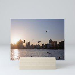 Haeundae Beach Skyline Mini Art Print