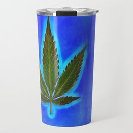 Hemp Lumen #1 marijuana, cannabis Travel Mug