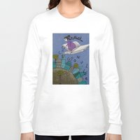 read Long Sleeve T-shirts featuring Read by Judith Clay