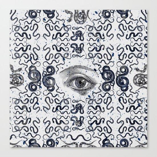 DEVIL EYE Canvas Print