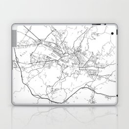 Minimal City Maps - Map Of Florence, Italy. Laptop & iPad Skin