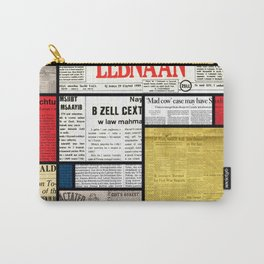 Mondrian's News Carry-All Pouch