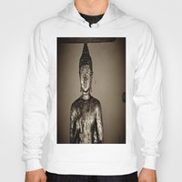meditation Hoodies featuring Meditation by Joëlle