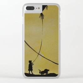Papalotes (kites) Clear iPhone Case