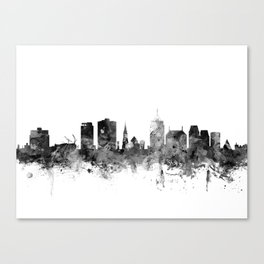 Christchurch New Zealand Skyline Canvas Print