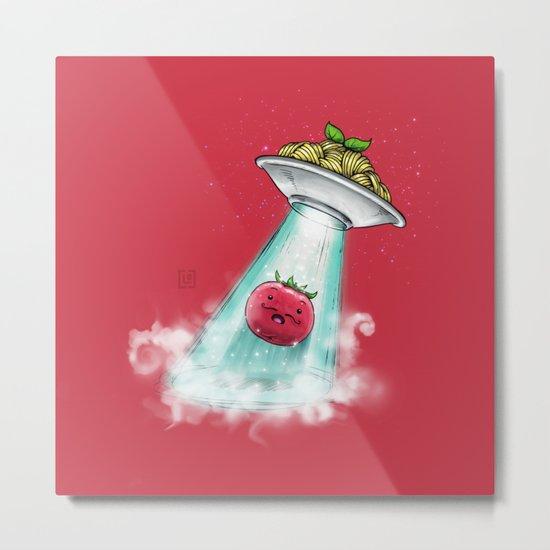UFO. Italian Spaghetti Dreams Metal Print