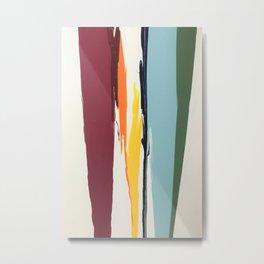 Color Fall by Inalterata Art Metal Print