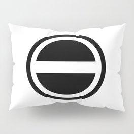 Curtis Holt Logo (Black) Pillow Sham
