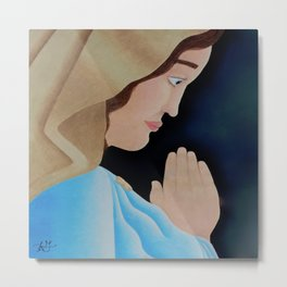 Mary of Nazareth Metal Print
