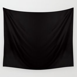 So black Wall Tapestry