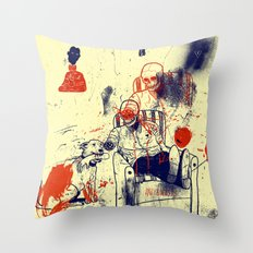 Oh Frank you did it again Throw Pillow